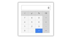 Модуль калькулятора на Mootools