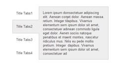 Модуль Адаптивные вкладки любого HTML-кода