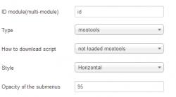 EXT MenuMatic Categories for K2 module
