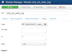 EXT Slide images module