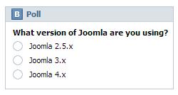 EXT VK Poll module