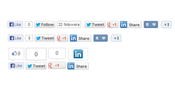 EXT Social buttons plugin for JoomShopping